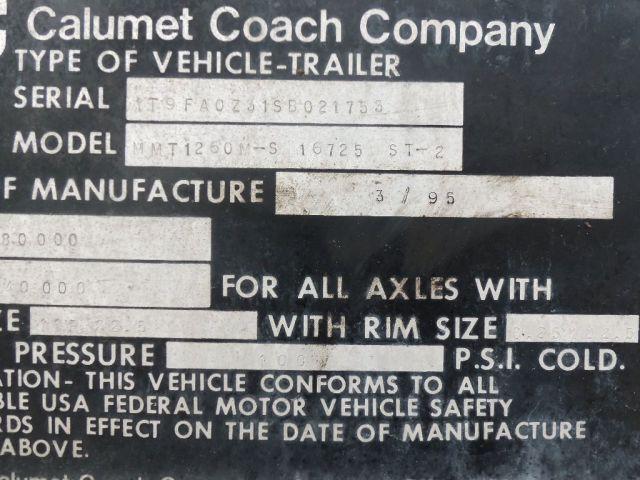 Coach Empty Trailer Auction
