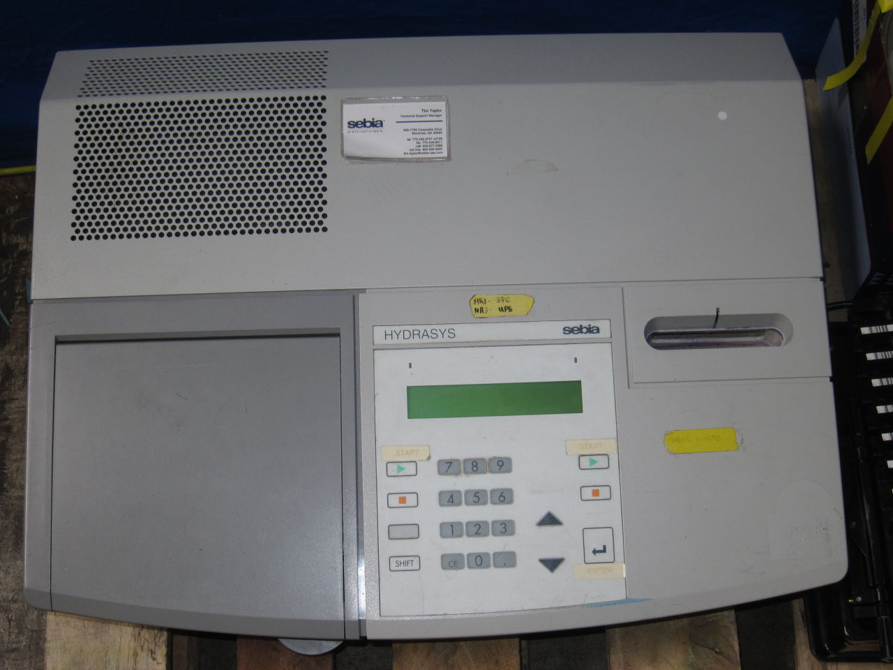 hydrasys 2 scan electrophoresis unit auction rh dotmed com
