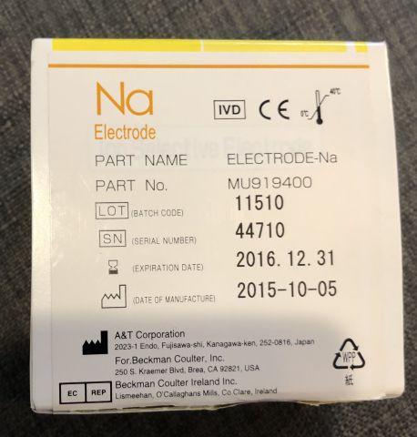 BECKMAN COULTER MU919400 Electrode Chemistry Analyzer Sale