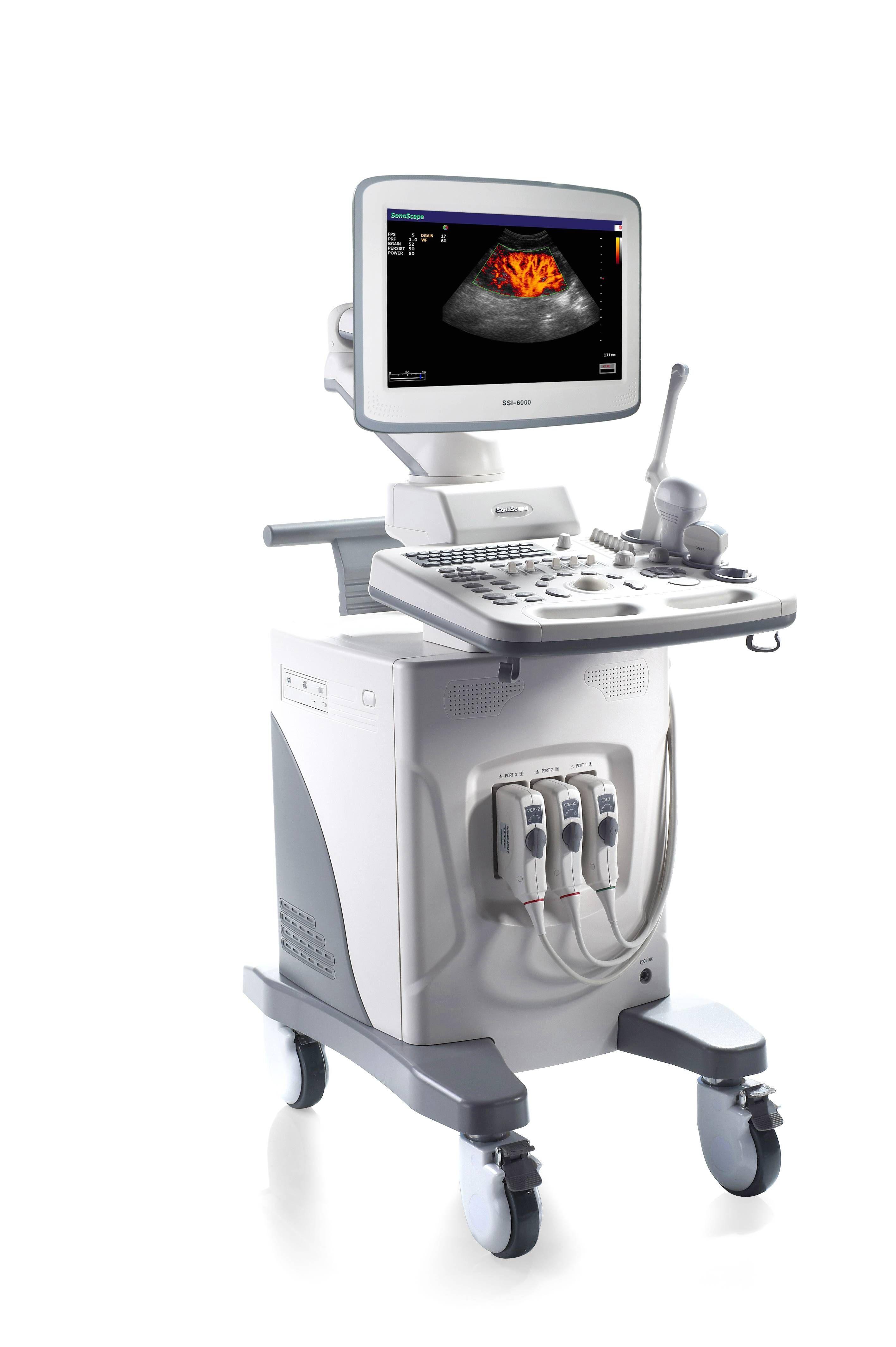 Sonoscape Ssi 6000 Shared Service Ultrasound Model