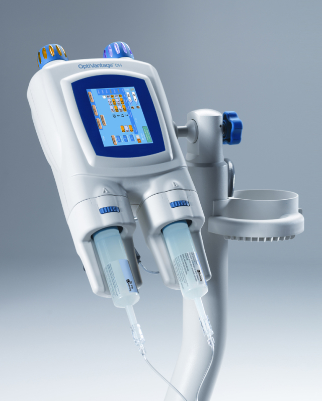 Contrast Media Injector in Vascular