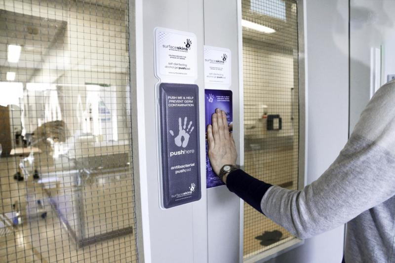 & DOTmed.com - New textile material for hospital doors may reduce HAIs